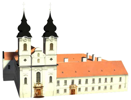 3D google sketchup abbey model