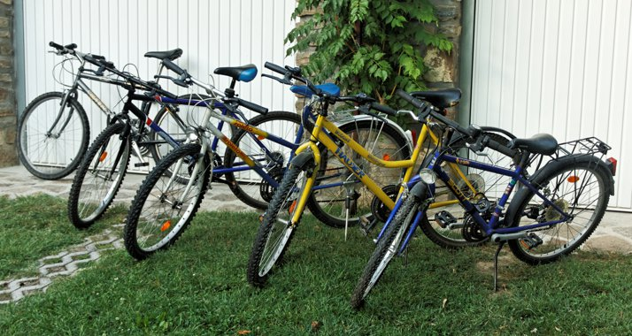 Our bycicles (free to use)